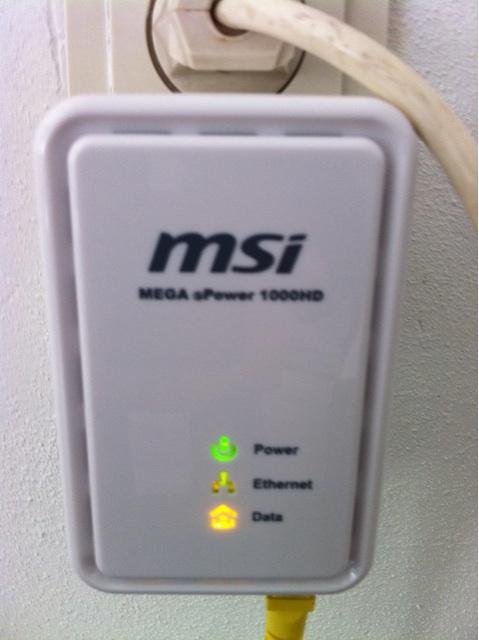 Razendsnel internet via elektriciteitsnet