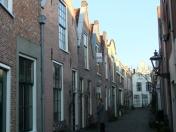 Mooie steegjes in overvloed in Leiden
