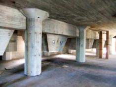 Meelfabriek betonconstructie Meelpakhuis