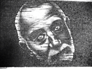 Portret van Peter Zumthor door Maurice Braspenning