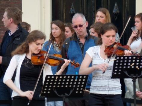 Aankondiging voor de Nacht van de Viool, onderdeel van Signatures Cultuurweken Leiden