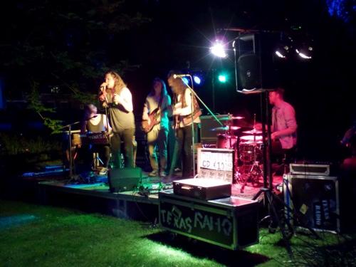 Museumnacht - Texas Radio speelt spetterende blues in de Hortus Botanicus