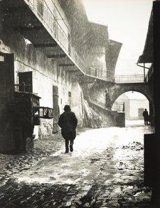 Ingang van het oude ghetto, Krakow, 1937