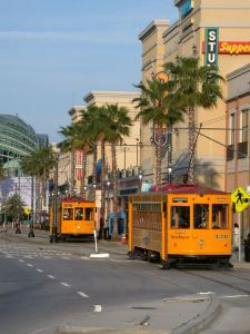 Streetcars at Channelside