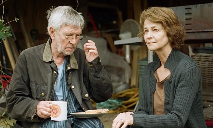 Tom Courtenay en Charlotte Rampling