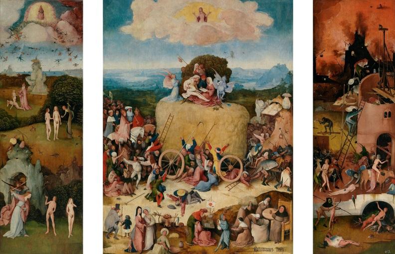 De hooiwagen Hieronymus_Bosch