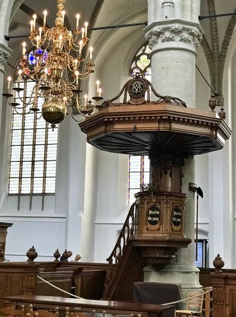 Dooptuin en kansel