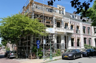 Plantsoen, hoek Rijnstraat