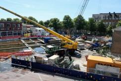 Bouw ondergrondse parkeergarage