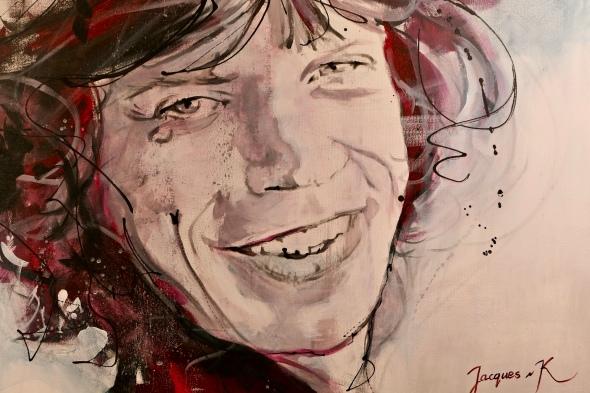 Jacques van Kampen - Mick Jagger